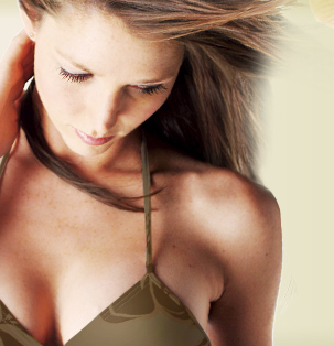 image of model - not actual patient - see before and after section for actual plastic surgery patients - breast augmentation dallas